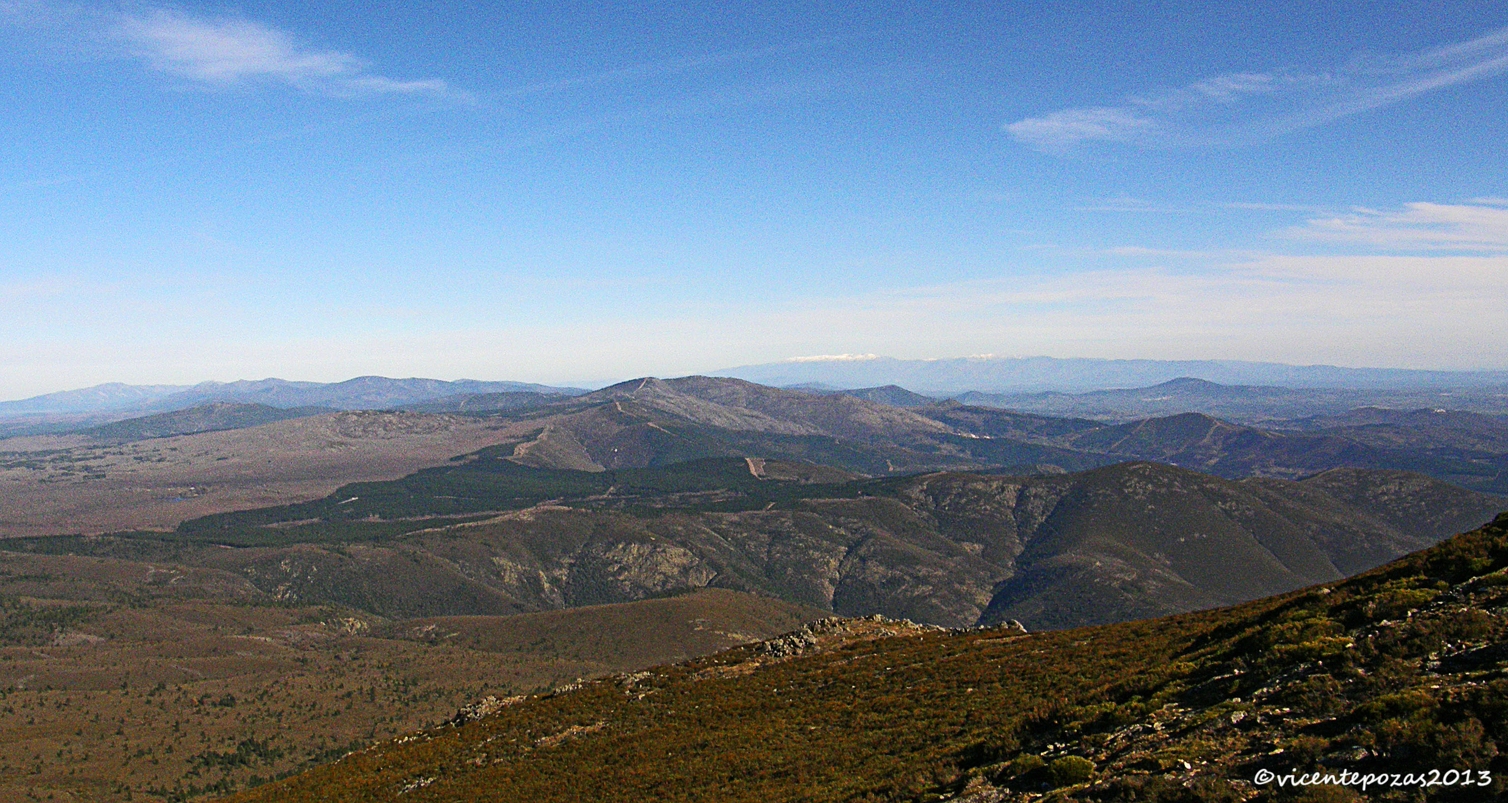 Ruta Pico Jálama. Sierra de Gata