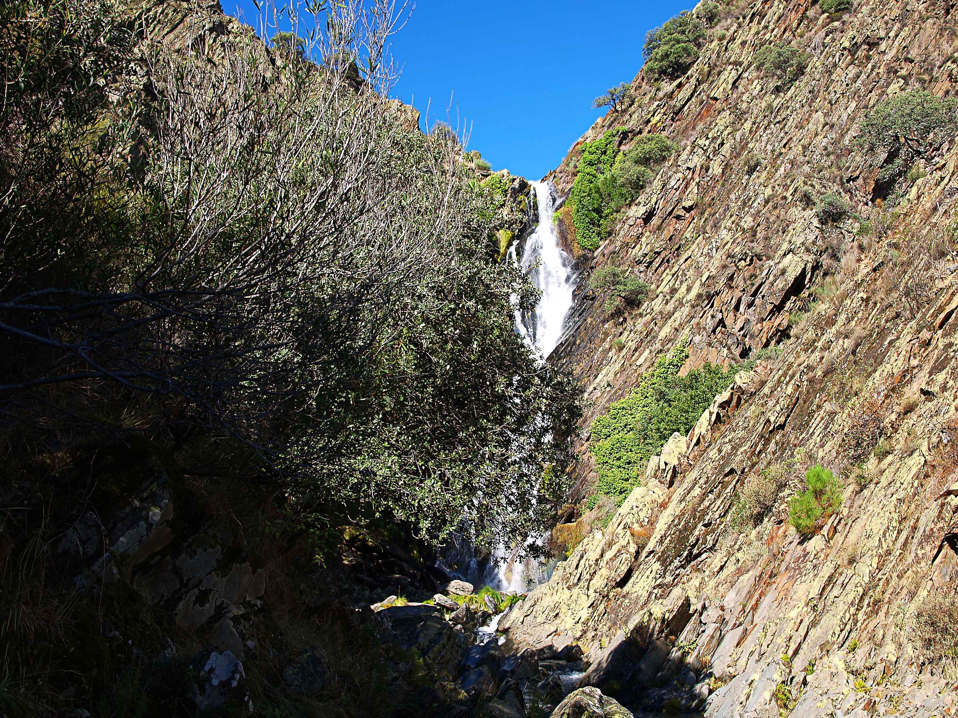 Ruta El Chorrituelo en Ovejuela. las Hurdes