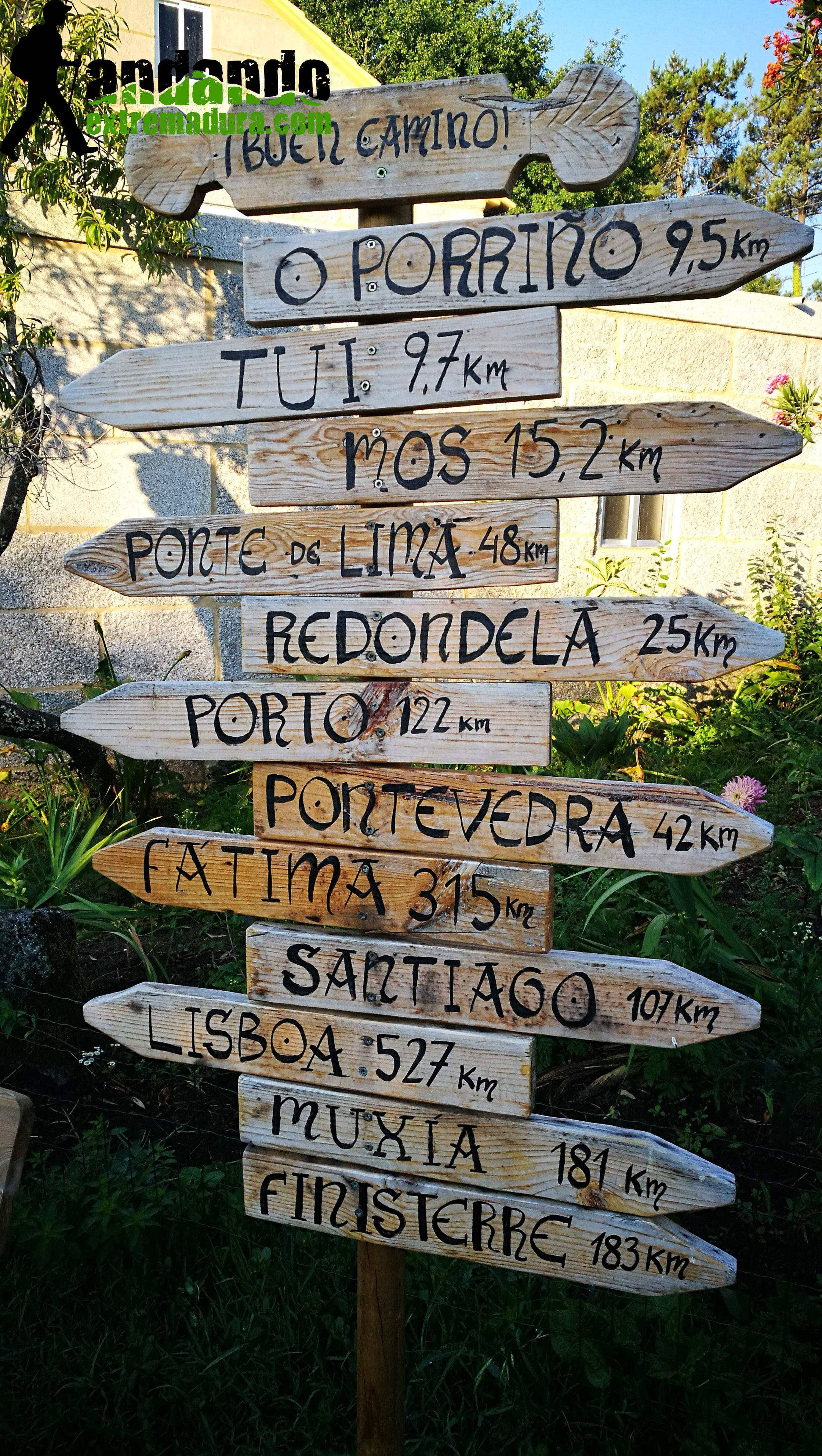 Camino portugués de Santiago